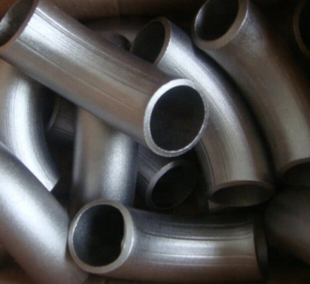 Titanium Pipe Bend Various Size And Angle Grade 2 GR2 Exhaust Tube Degree Elbow